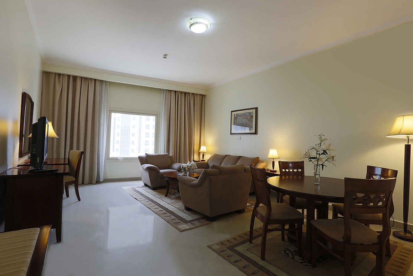 2-bed living,Dining area.JPG